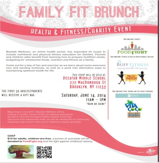 Family Fit Brunch