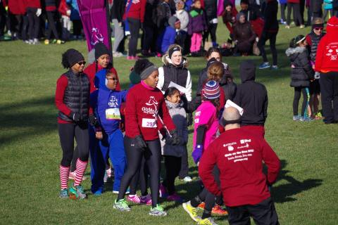 Girls On the Run 5K Recap - Winter 2014